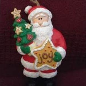 Other - VINTAGE CHRISTMAS ~ Santa Ornament